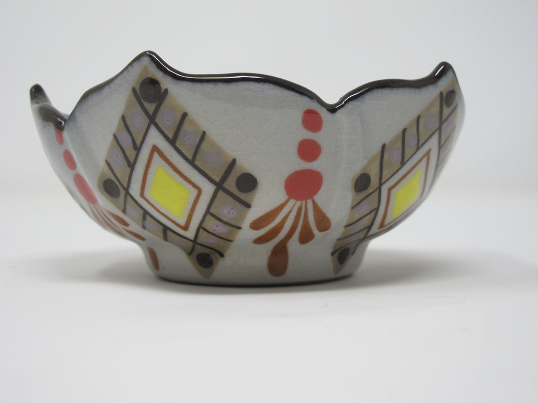 Ceramic Tear Drop Bowl