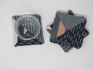 Organic Cotton Coaster Set (4)