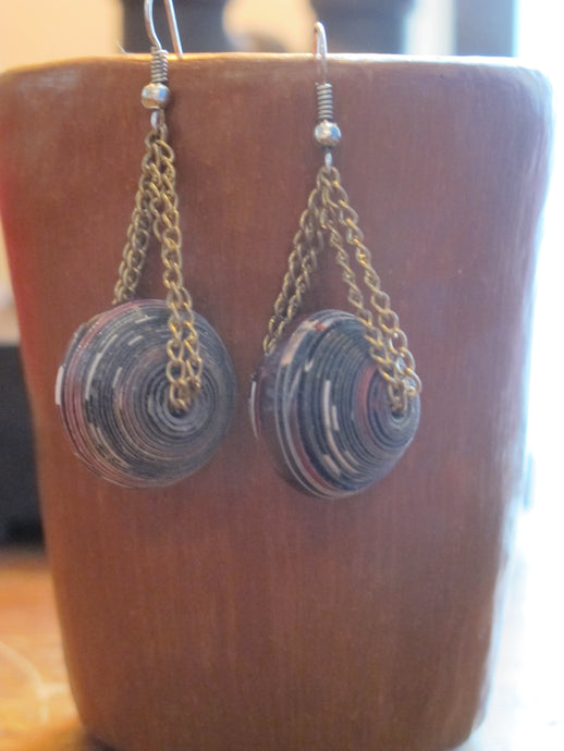 Ball and Chain Earring