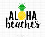 Aloha Beaches Svg Clipart