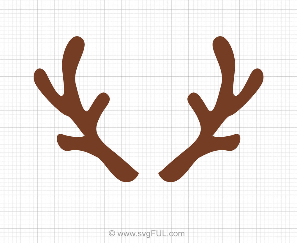 Antlers Svg Clipart
