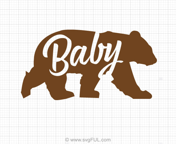Free Baby Bear Svg Clipart