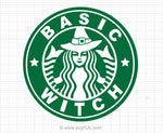 Basic Witch Svg Saying