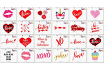 Be Mine Valentines Day Svg Clipart Printables Bundle