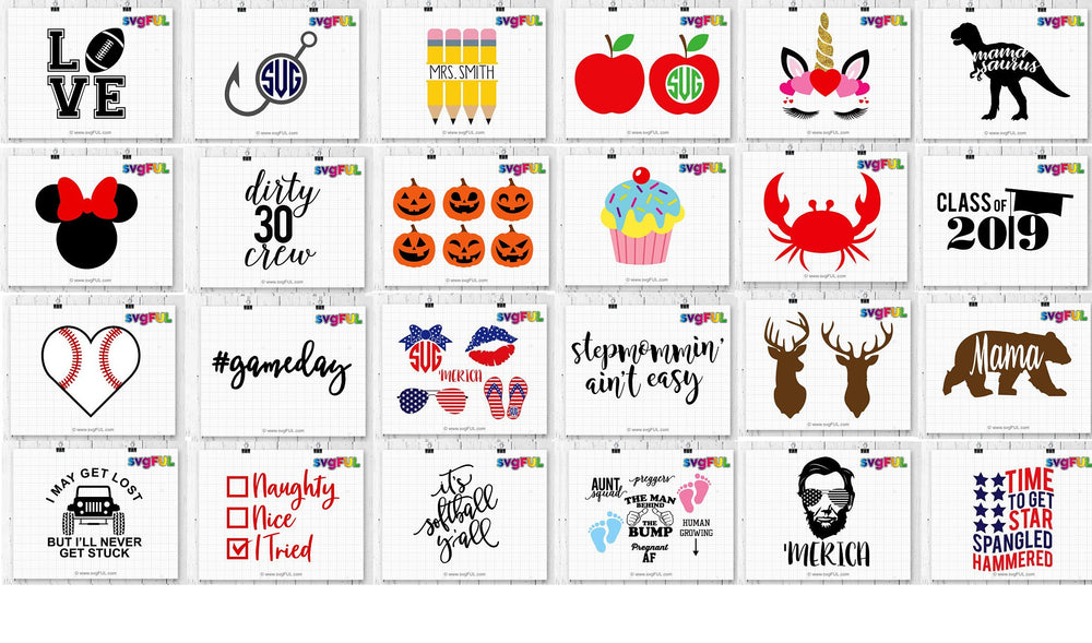 Craft Bundle Svg Clipart Printables