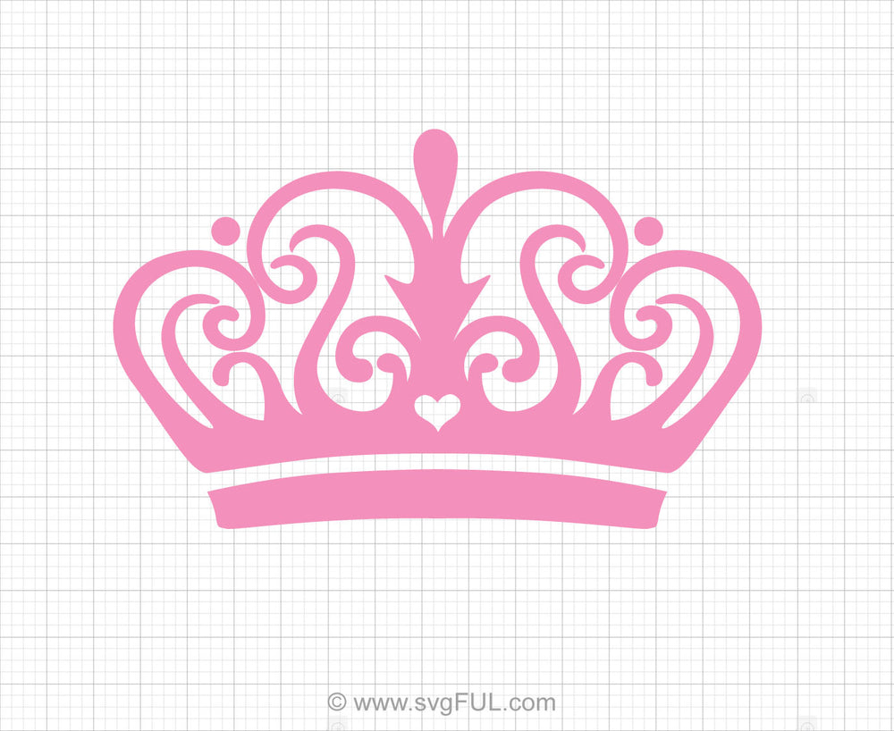 Crown Tiara Svg Clipart