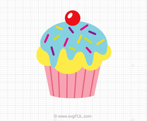 Cupcake SVG Clipart