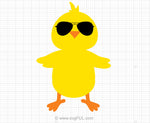 Easter Chick Svg Clipart