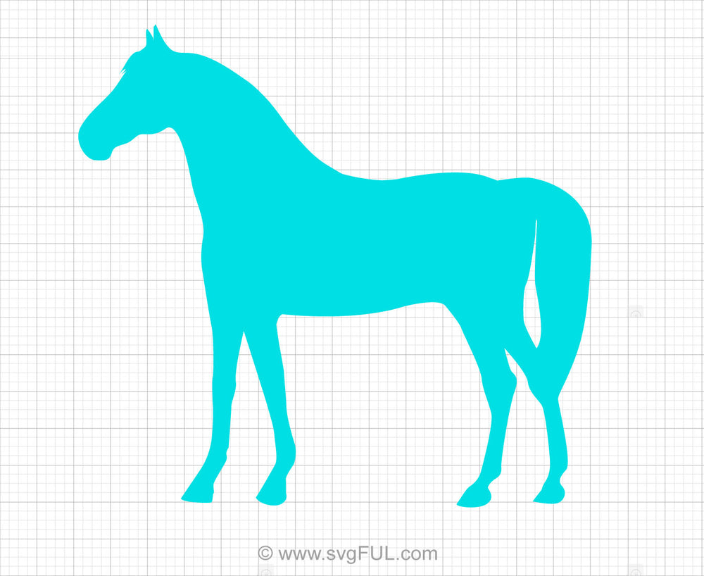 Horse Free Svg Clipart