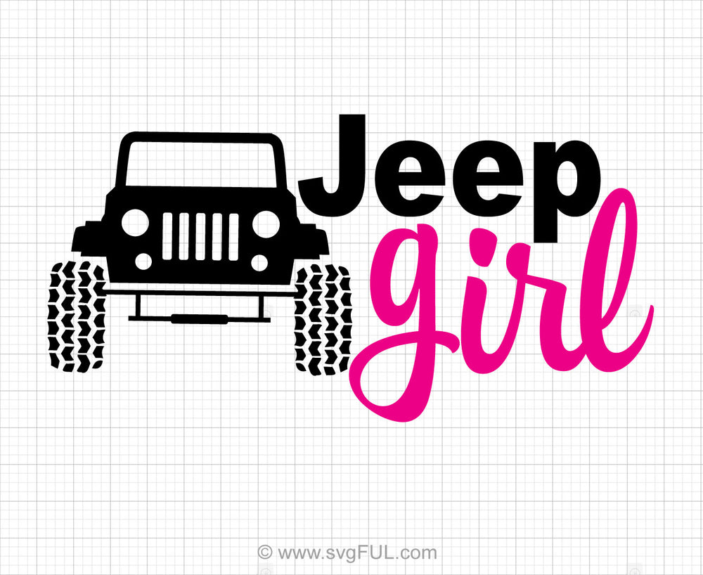 Jeep Girl Svg Saying