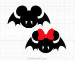 Mickey Mouse Bat Minnie Mouse Bat Svg Clipart