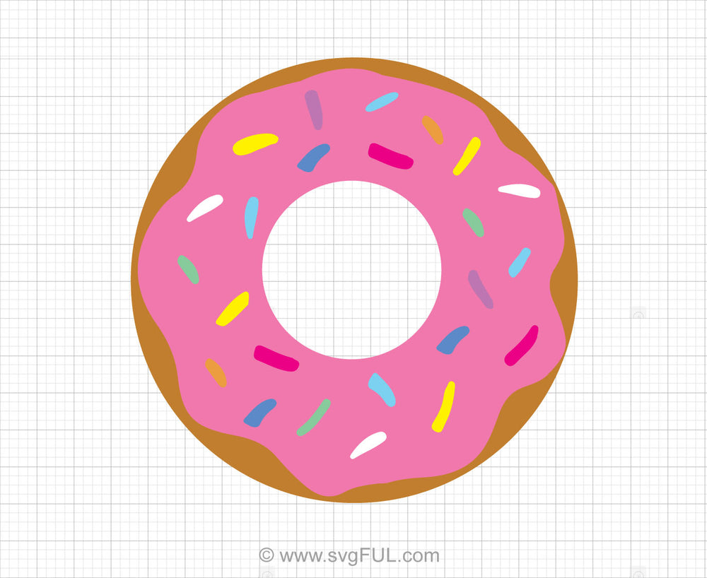 Donut Svg Clipart