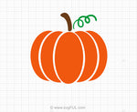 Pumpkin Halloween SVG Clipart
