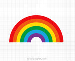Rainbow Svg Clipart