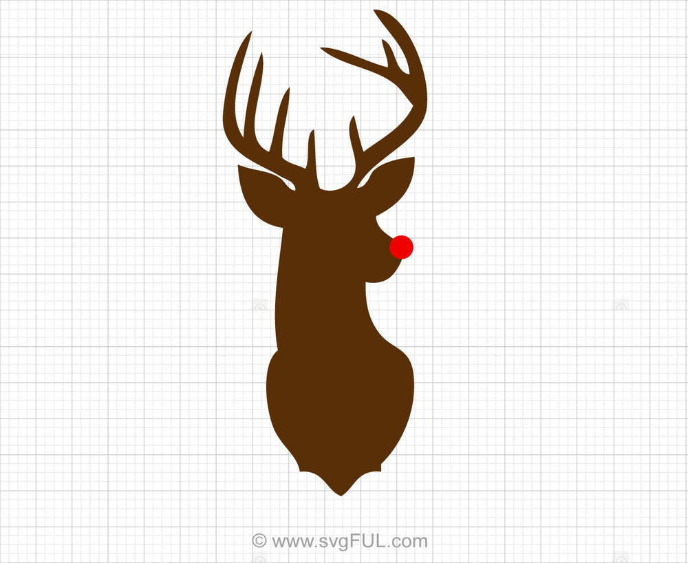 Rudolph Svg Clipart