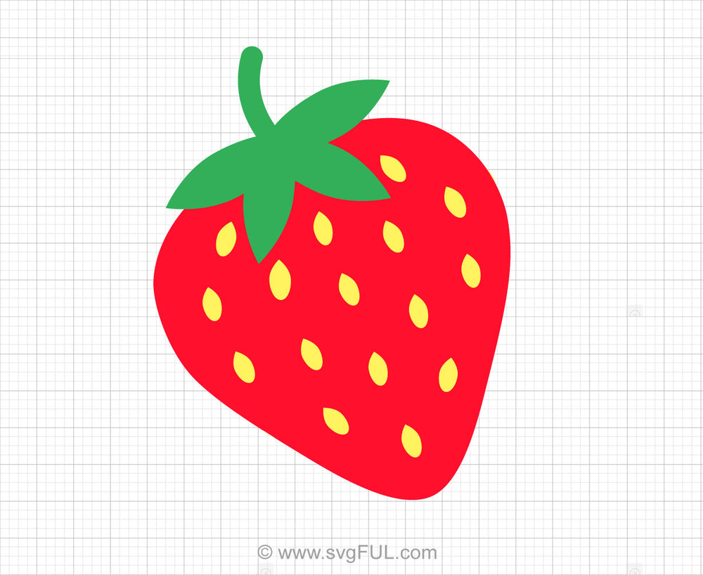 Free Strawberry Svg Clipart