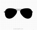Sunglasses SVG Clipart