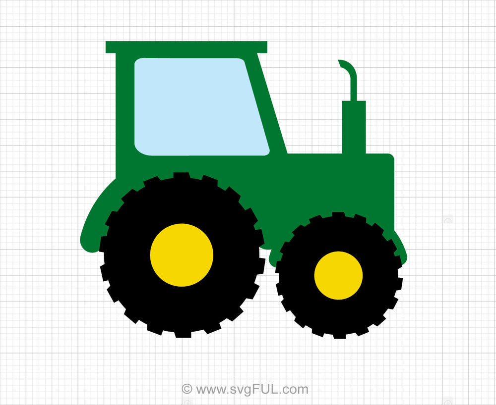Tractor Svg Clipart