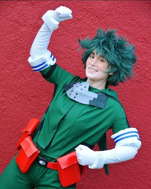 Deku from My Hero Academia