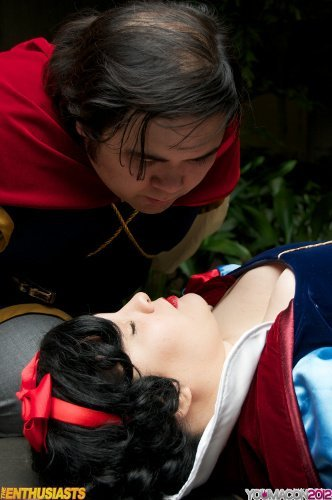 Valentine's Day Couples Contest Entry: Impossible Dreamer & Oreo Otaku as Snow White & Prince Charming (Disney's Snow White)