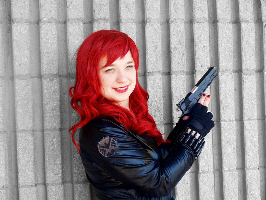 Show Us Your Moves: Beth Cosplays as Black Widow from The Avengers!