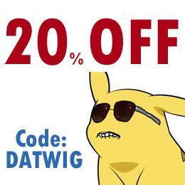Sale Sale Sale! 20% Off till May 20th, 2012!