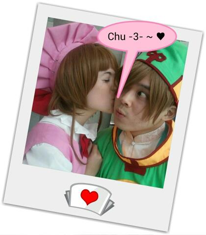Valentine's Day Couples Contest Entry: Arlette & Will as Sakura & Syaoran from Card Captor Sakura!