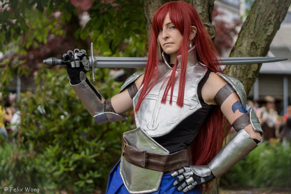Show Us Your Moves: Barracuda Cosplays Erza from Fairy Tail!