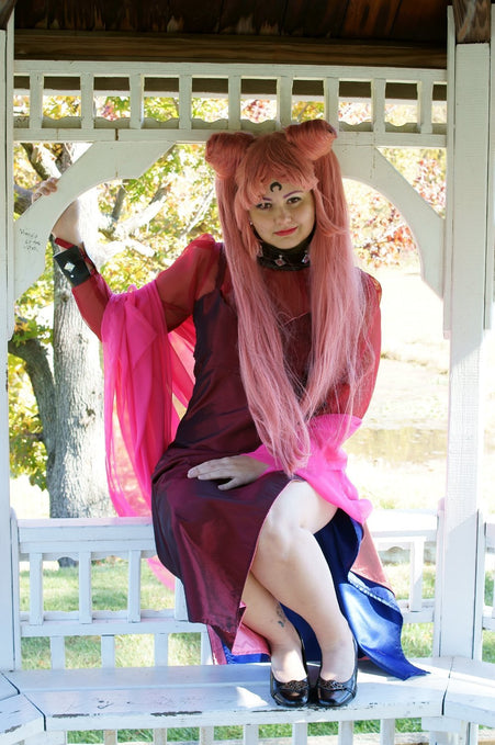 Halloween Contest Entry: Emma as Wicked Lady!