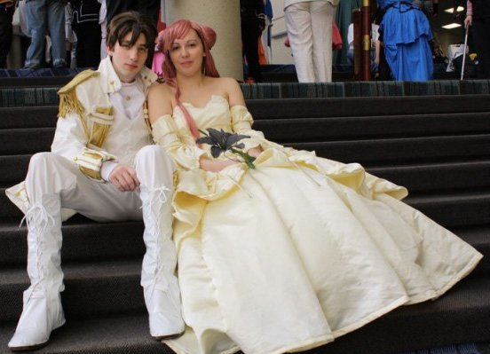 Valentine's Day Couples Contest: Amara and Ben as Princess Euphemia and Suzaku Kururugi