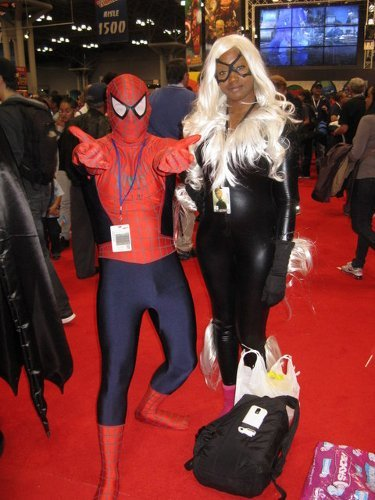 Valentine's Day Couples Contest Entry: Angel & Jeanelle as Spider-man & Black Cat (The Amazing Spider-Man)