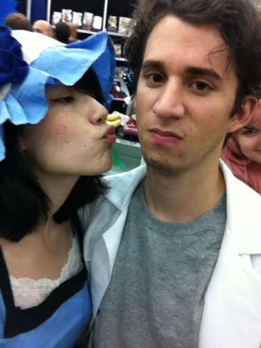 Valentine's Day Couples Contest Entry: Anna & William as Mayuri Shiina & Rintaro Okabe (Steins;Gate)