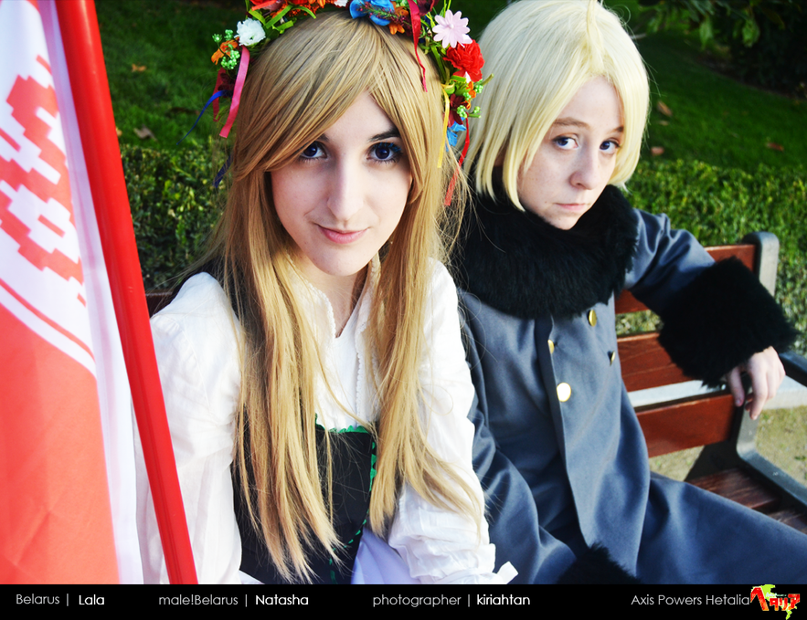 Show Us Your Moves: Lala Cosplays Belarus from Hetalia!