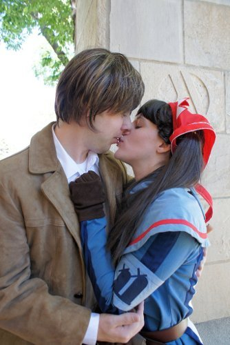 Valentine's Day Couples Contest Entry: Beverly & Nick Warner as Alicia & Welkin (Valkyria Chronicles)