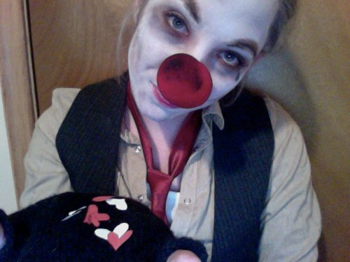 Valentine's Day Theme Contest Entry: Britty as Hobo Clown (The Devil's Carnival)
