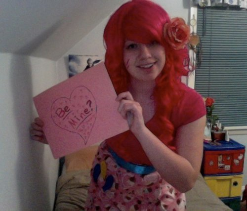 Valentine's Day Contest Entry: Cece as Pinkie PIe (My Little Pony)