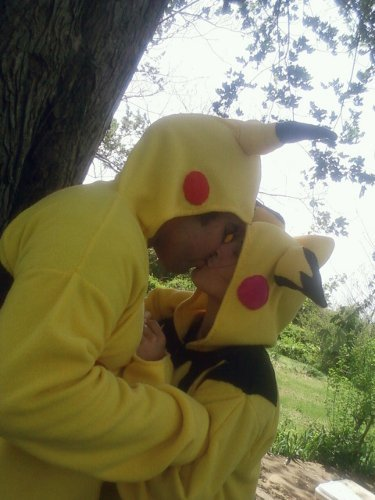 Valentine's Day Couples Contest Entry: Danny Rodriguez & Sheila Netteler as Pikachu & Pichu (Pokemon)