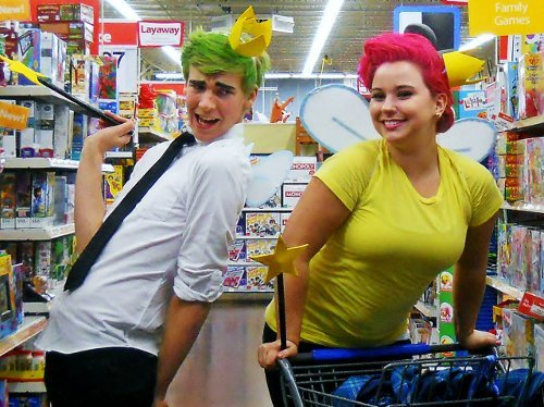 Valentine's Day Couples Entry: Darrin and Anissa as Cosmo and Wanda!