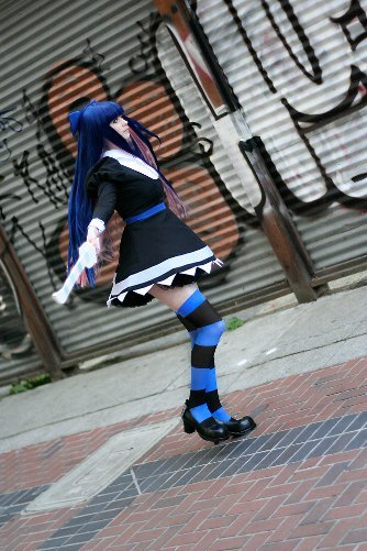Show Us Your Moves: Daydreamernessa cosplays as Stocking!