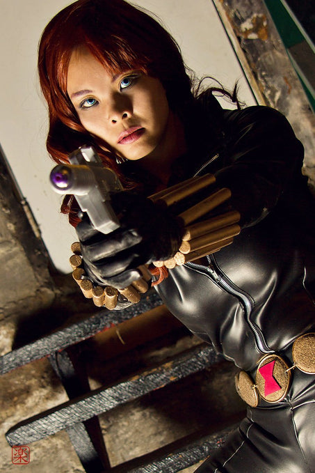 Show Us Your Moves Submission: Ger as Black Widow!