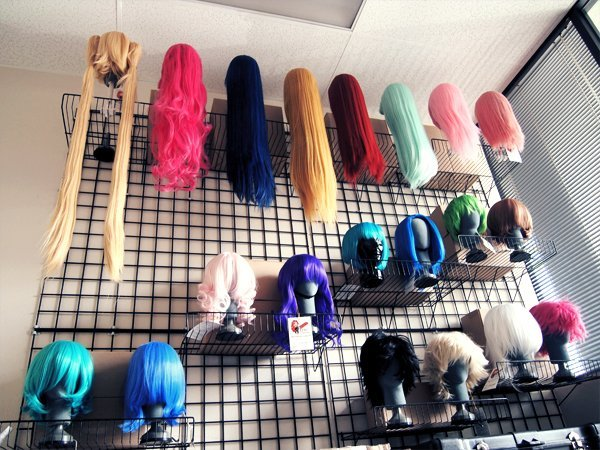 Our Wall of Wigs