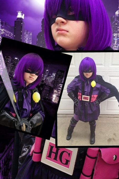 Halloween Contest Entry: Rhiannon as Hitgirl
