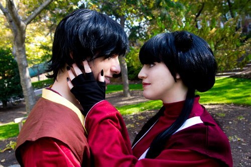 Valentine's Day Couples Contest Entry: Scoty2hoty & SeibaTooth as Zuko & Mai (Avatar the Last Airbender)