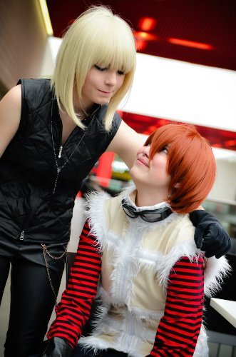Valentine's Day Couples Contest Entry: Stacey & Jodie as Mello & Matt (Death Note)