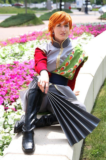 Show Us How You Style Submission: Human Sushi Cosplay (Part 3). Tasuki from Fushigi Yuugi