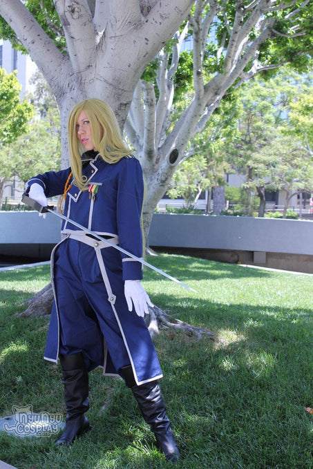 Show Us Your Moves Submission: Nyu Nyu Cosplay as Olivier Armstrong