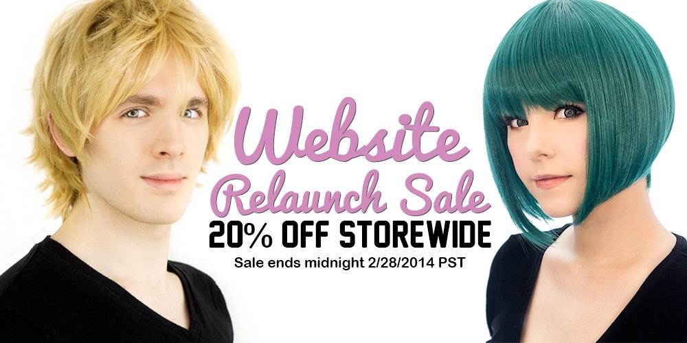 Website Relaunch Sale