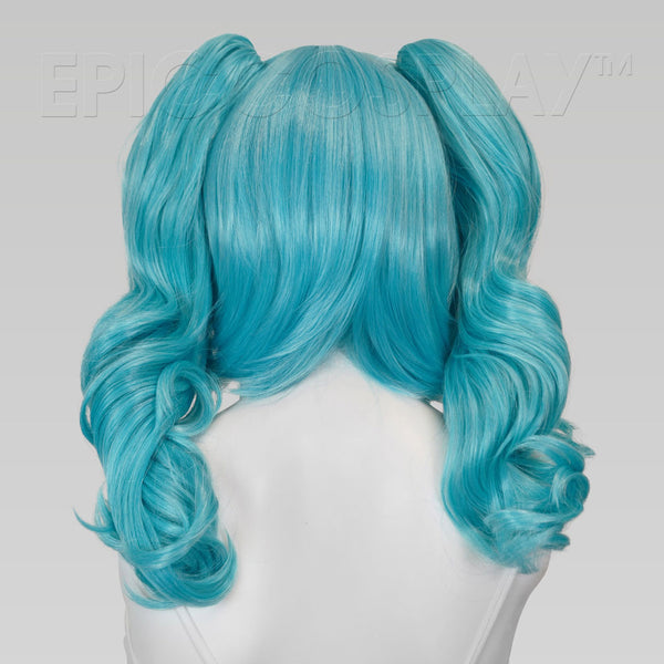 Rhea - Anime Blue Mix Wig