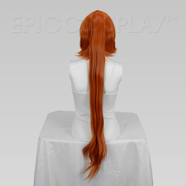 Leto - Autumn Orange Wig