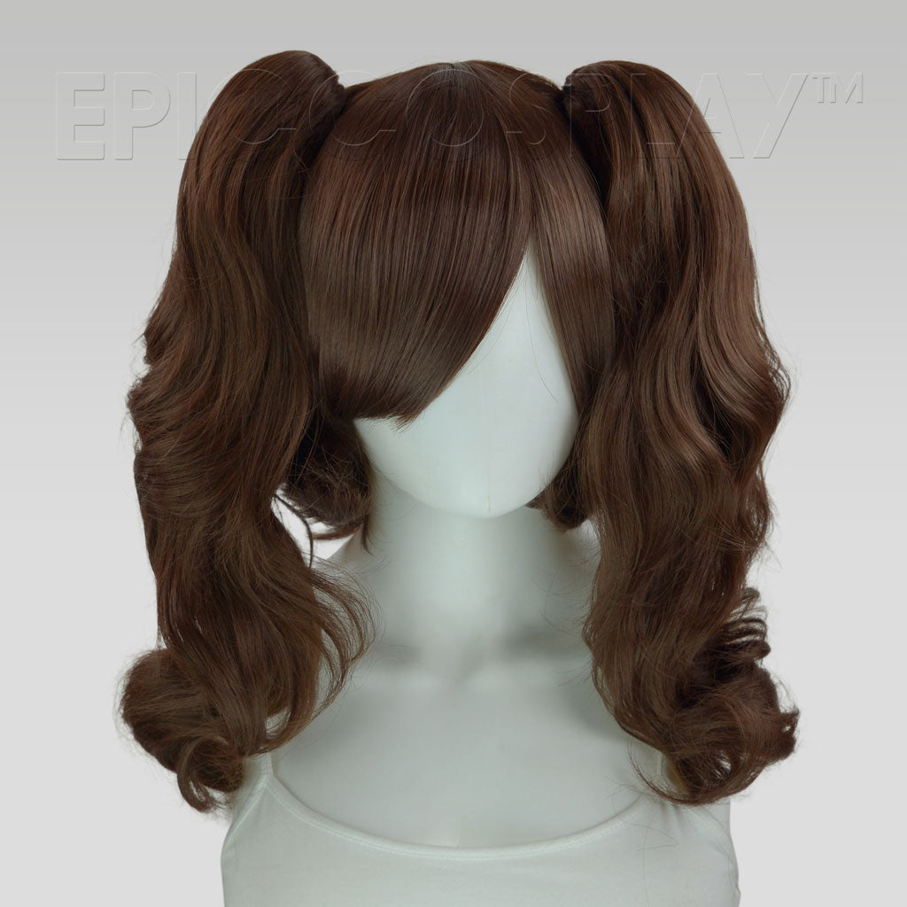 23/'/' Curly Pony Tail Clip Slate Gray Cosplay Wig NEW